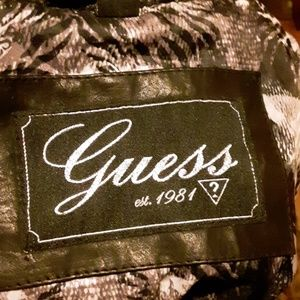 Ladies GUESS Leather jacket